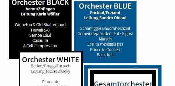 #wirsindblasmusikaargau – 24.08.2019